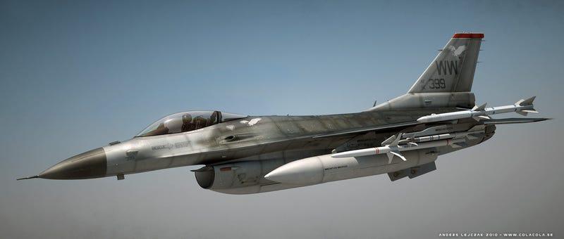 Illustration for article titled Renders 3D de cazas y aviones que parecen de verdad