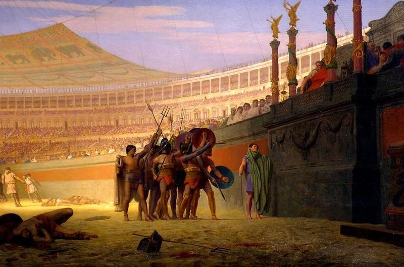 Illustration for article titled Bread and Circuses, Wings and Beer
