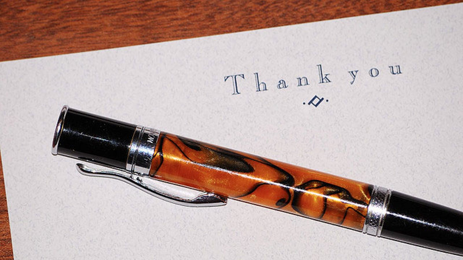 how to send a thank you note after job interview