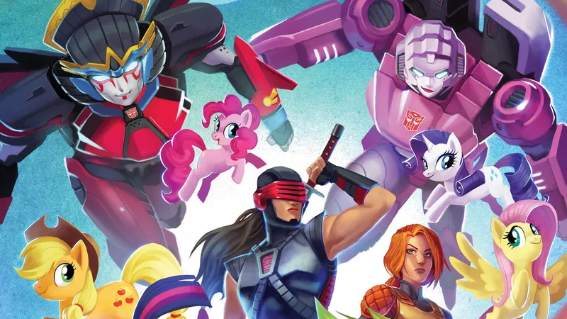 Female heroes of many Hasbro lines will unite in Synergy.