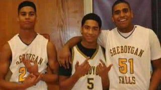 Jordan, Jamal and Juwaun JacksonScreenshot from WTMJ
