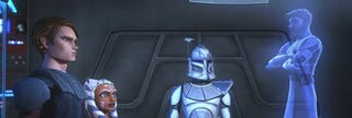 Illustration for article titled Close Ups On Clone Wars Characters Show The Problem With CGI