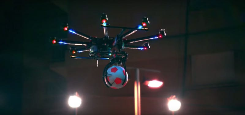 Illustration for article titled Pepsi Is Lying: This Is Not Drone Football