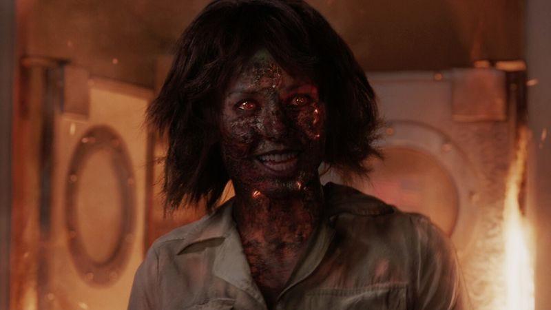 Stephanie Szostak as Ellen Brandt in Iron Man 3