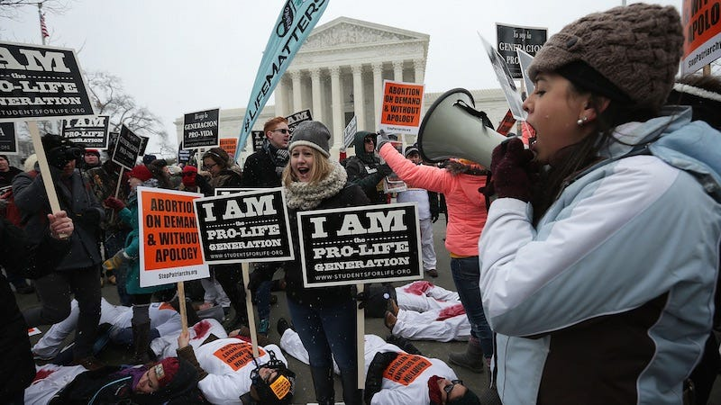 Illustration for article titled Supreme Court Blocks North Dakota from Enforcing 'Fetal Heartbeat' Law