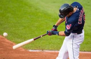 Illustration for article titled Lonnie Chisenhall Was Playing With Cheat Codes Last Night