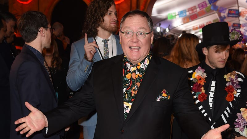 John Lasseter at the premiere of Disney's Coco.