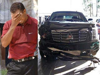 Illustration for article titled GM To Repair, Sell Crashed Tiger Woods Escalade