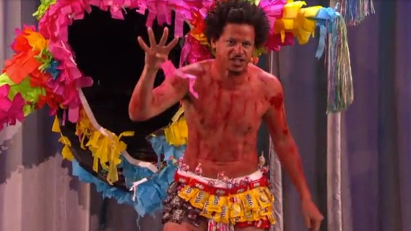 Illustration for article titled A bloody, half-naked Eric Andre announced his show's renewal