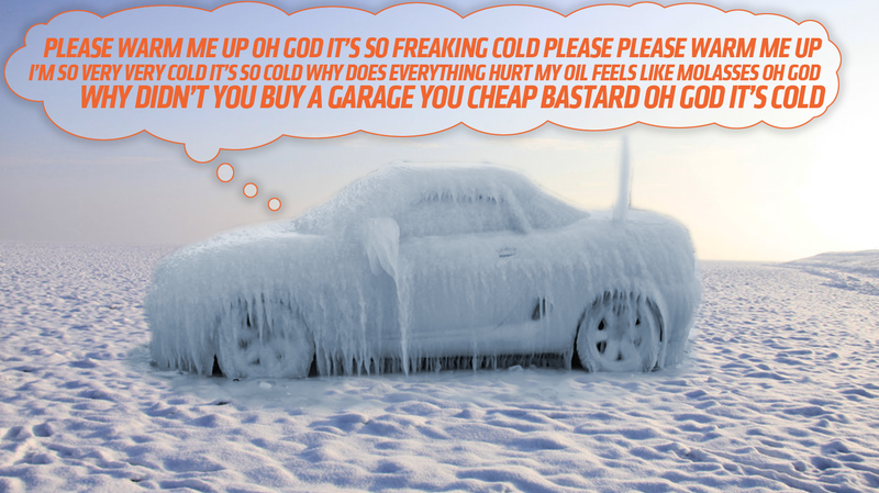 Much Like The Act Of Wearing Live Hamsters As A Merkin, Whether Or Not To Warm  Your Car Up In Cold, Cold Winter Is Something Nearly Everyone Seems To Have  ...