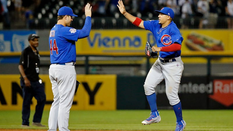 Cubs outlast Brewers in 11 innings