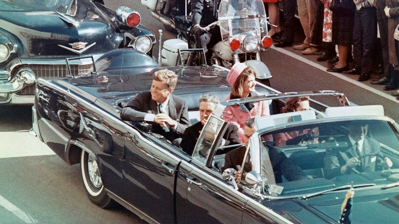 JFK in Dallas.