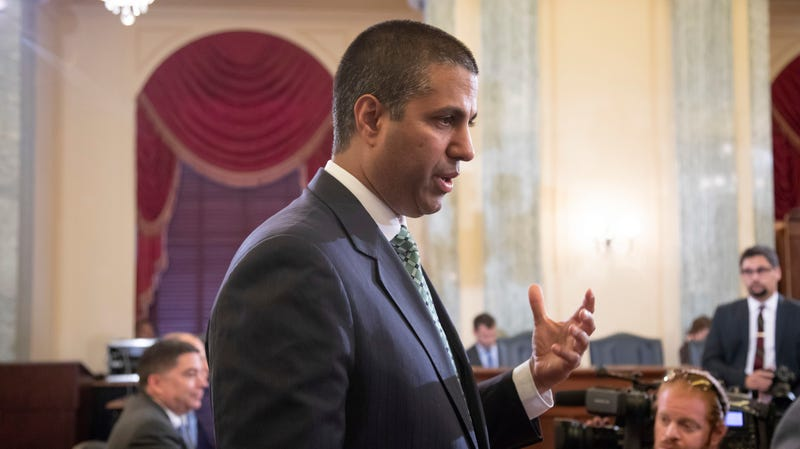 Illustration for article titled Ajit Pai and Republicans in Congress Helped Enable 'Bounty Hunters' to Track Your Phone