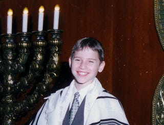 Illustration for article titled Bar Mitzvah Transforms Jewish Boy Into Elderly Man