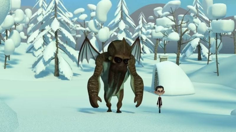 Howard Lovecraft And The Frozen Kingdom (Screenshot: YouTube)