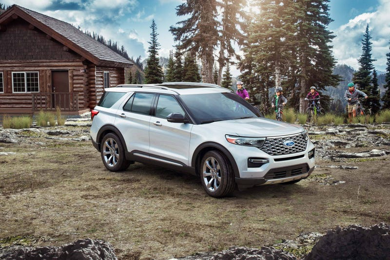 Illustration for article titled The 2020 Ford Explorer is kind of pricey