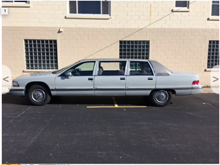 Illustration for article titled Buick limo for sale CL