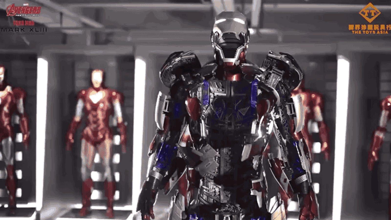 Fabrican una réplica exacta de la armadura de Iron Man que cuesta $360.000 y no te puedes poner