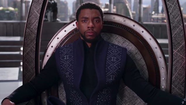The King of Wakanda Holds the Oscars  First Best Picture Nod for a Superhero Film