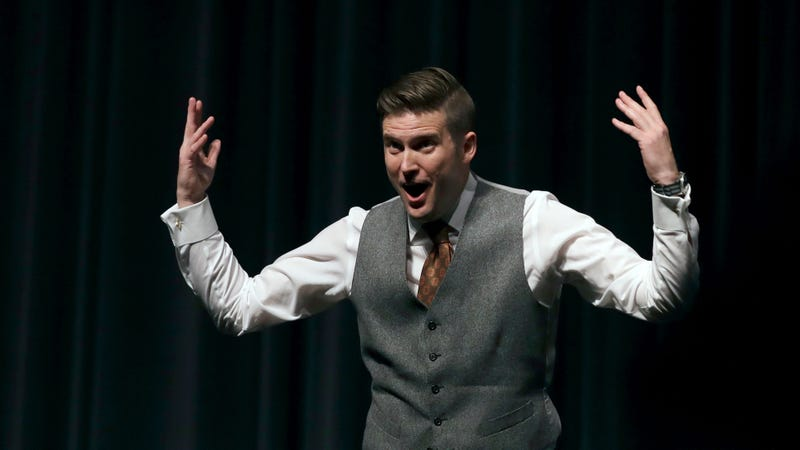 Illustration for article titled Richard Spencer Postpones College Tour No One Was Attending Anyway, Blames Antifa