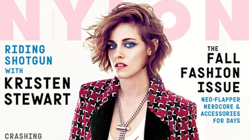 Illustration for article titled Kristen Stewart Talks About Her Sexuality: 'Google Me, I'm Not Hiding'