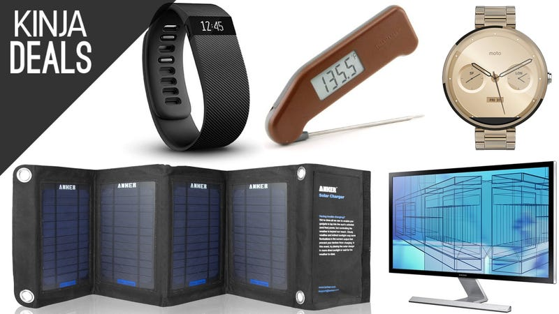 Illustration for article titled Today's Best Deals: Thermapen, Moto 360, Fitbit, and More