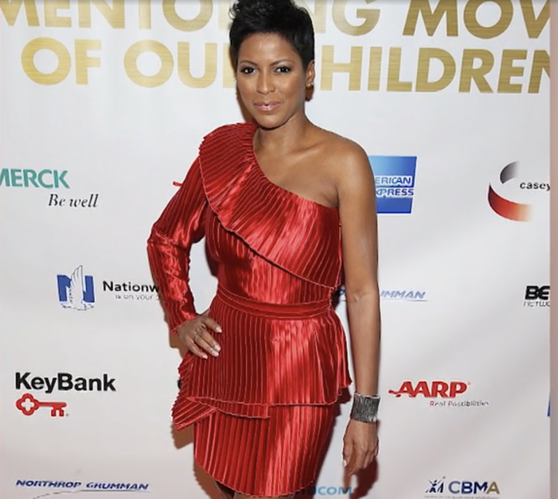 A Tamron Hall daytime talk show is in the works