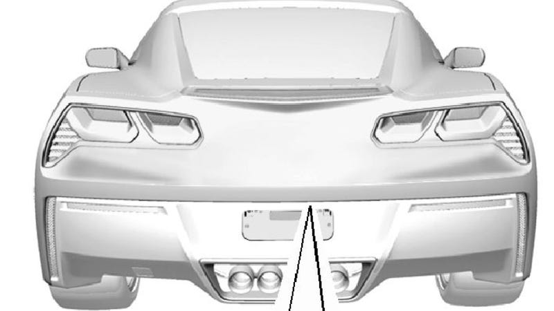 Illustration for article titled This Is The 2014 Corvette's Rear End, Engine Bay And Interior