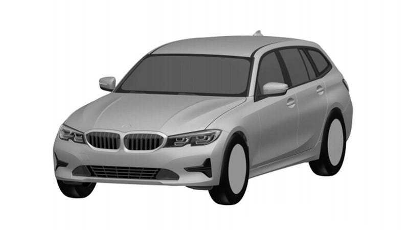 Illustration for article titled Here's The New BMW 3 Series Wagon Before You're Supposed To See It