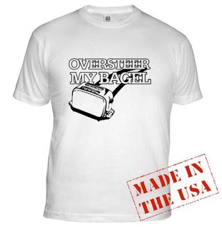 Illustration for article titled Oversteer My Bagel: Buy Some Jalopnik On A T-Shirt!