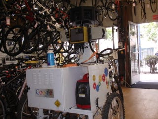 Illustration for article titled Google Street View Employs High-Tech Tricycles for Hard-to-Reach Places