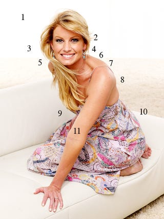 Illustration for article titled The Annotated Guide To Making Faith Hill 'Hot'