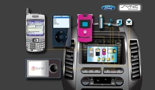 Illustration for article titled Ford Sync In-Car Audio System Coming This Fall for $395