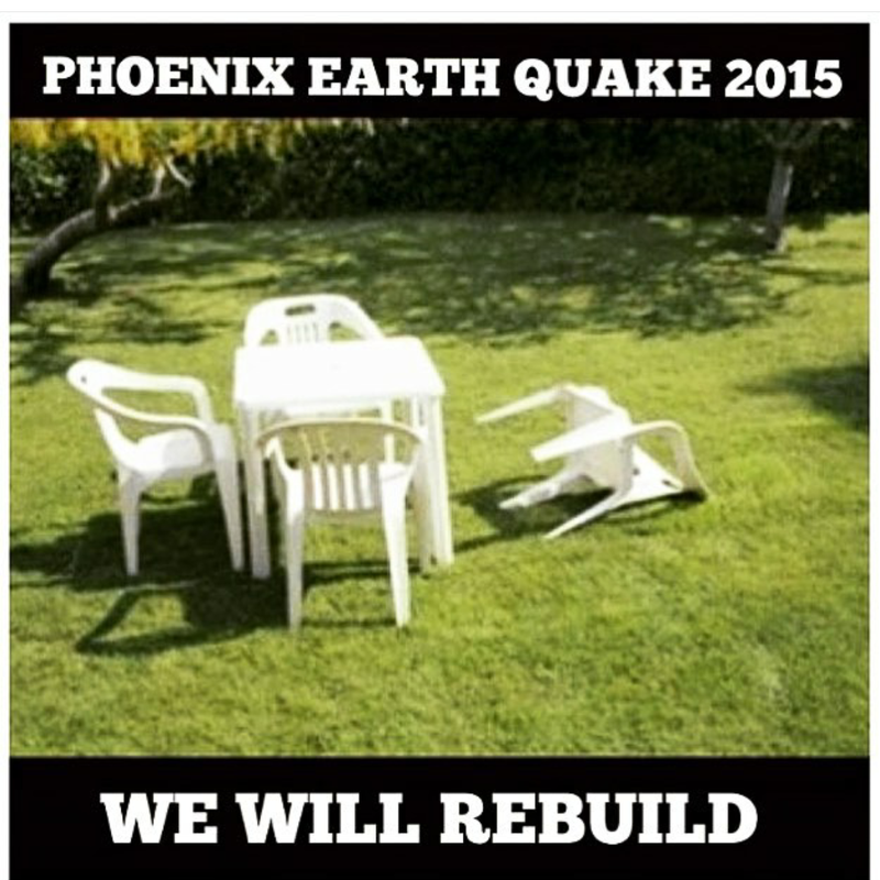 Illustration for article titled Phoenix Earthquake 2015