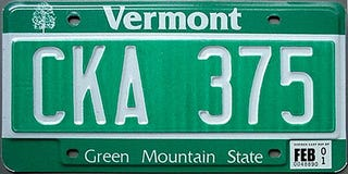 Illustration for article titled Get Vermont plates - live anywhere