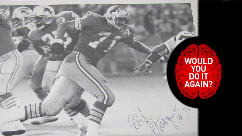 Illustration for article titled Would You Do It Again? We Ask Former NFLer Rich Strenger