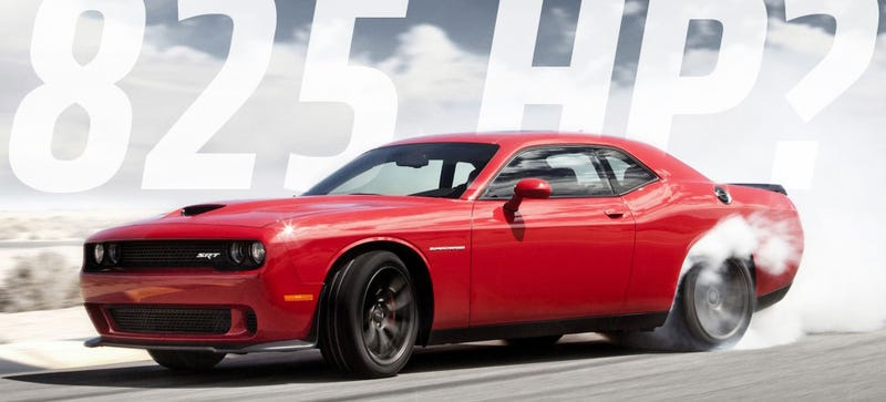 Illustration for article titled Source: Hellcat Dyno'd Up To 825 HP But May Have Emission Issues