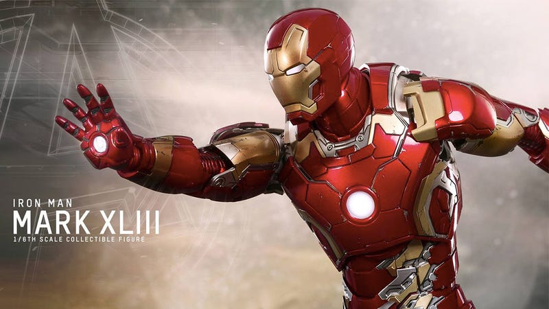 Illustration for article titled Hot Toys Just Gave Us a Peek At Iron Man's Avengers: Age of Ultron Armor