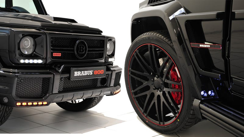 The brabus 39 800 ibusiness 39 is a bonkers v12 powered g for Lb mercedes benz