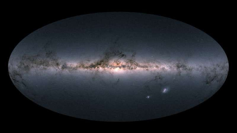 The newest Gaia star map