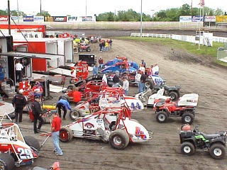 Illustration for article titled Two Reported Dead After A Sprint Car Drives Off A Pit Ramp At Full Speed And Hits Multiple Bystanders