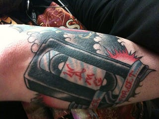 Illustration for article titled Vintage Gadget Tattoos