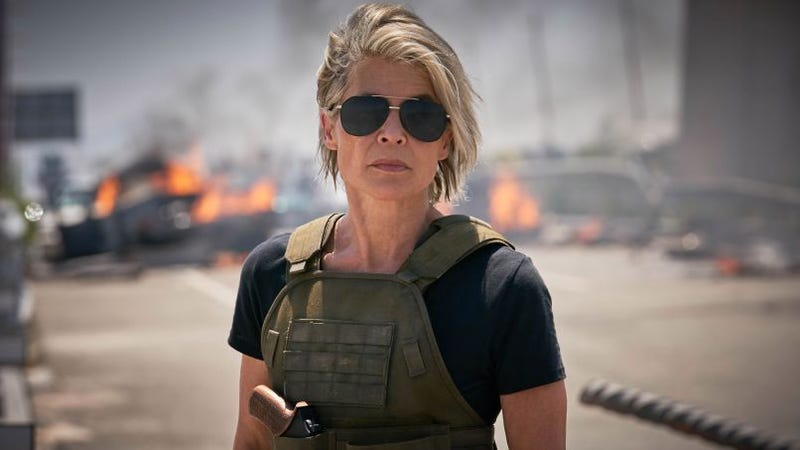 Linda Hamilton is ready to kick so much ass in Terminator: Dark Fate.