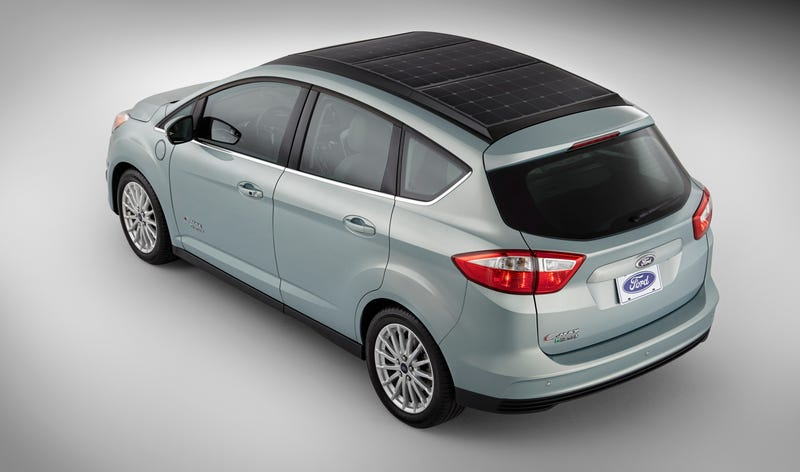 Illustration for article titled Ford Will Debut 100 MPGe Solar-Powered Car At CES
