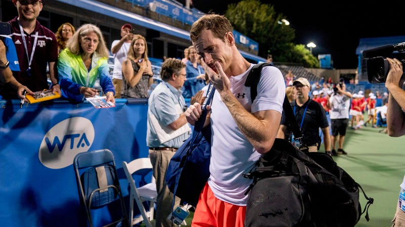 Illustration for article titled Andy Murray Sobs After Winning Match At 3 A.M., Rails Against Tournament Schedule