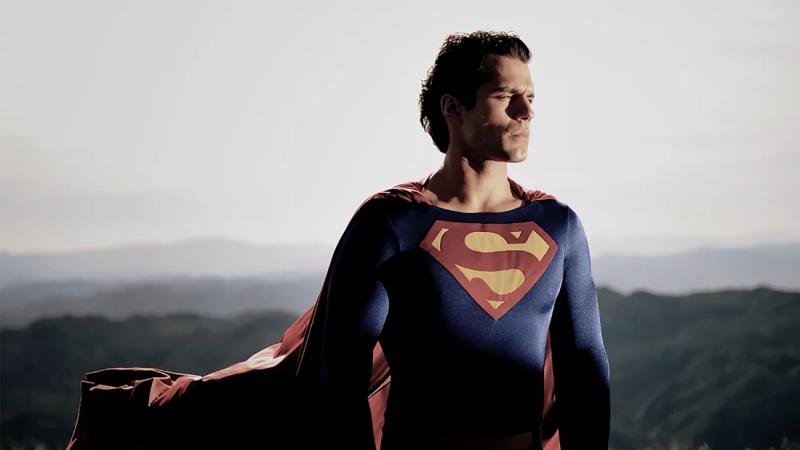 La foto que convenció a Warner Bros de que Henry Cavill era el próximo Superman.