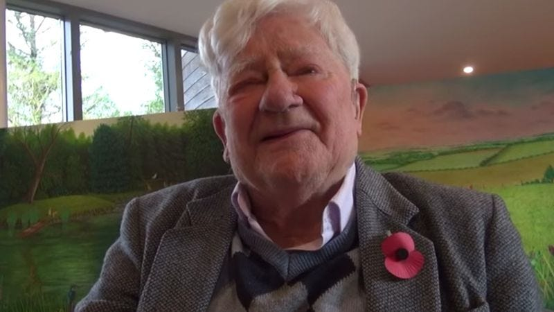 Richard Adams (Screenshot: Whitchurch Arts/YouTube)