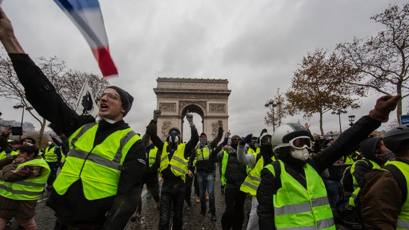 France's Gas Tax Disaster Shows We Can't Save Earth by