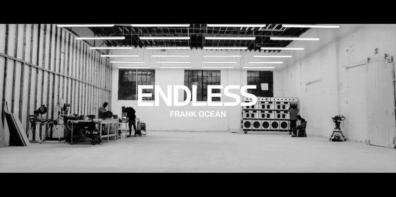 Visual from Frank Ocean's EndlessFrank Ocean