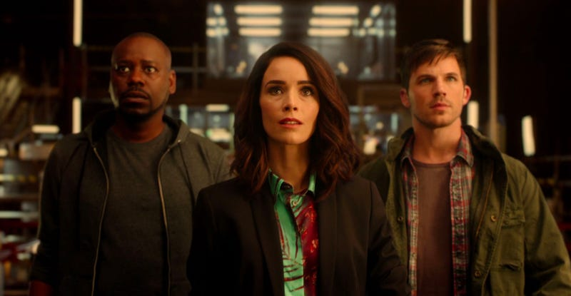 Timeless was just canceled by NBC. Image: NBC